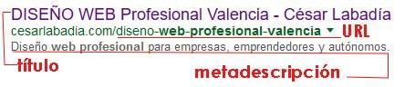 resultado busqueda web profesionales